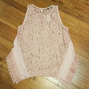 Ann Taylor Loft Lace Top